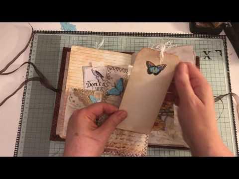 Back to nature vintage journal