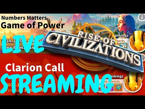 Rise of Civilizations - live - Game of Power - Clarion Call - Q/A