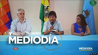 Noticias Telemundo Mediodía, 11 de noviembre 2019 | Noticias Telemundo