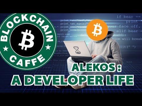 Alekos: A Developer Life | Blockchain Caffe