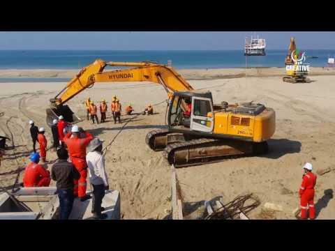 SEA-ME-WE-5 Installation for Myanmar - Hain Brothers Co., Ltd