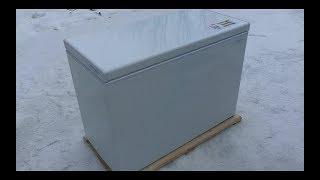 морозильная камера Biryusa 260 H ремонт