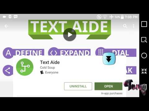 App Review and Tutorial: Text Aide (If you love typing, this is for you)
