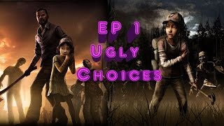 The Walking Dead Ep. 1 A New Day - Ugly/Silent Choices Complete (PS4 1080p60fps)