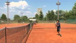 Libyan Tennis Team at Serbian Tennis Training Center Lokomotiva Beograd
