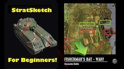 WOT Console: StratSketch for Beginners || Fisherman's Bay!