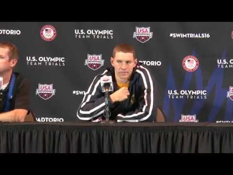 2016 U S  Olympic Team Trials   Swimming Ryan Murphy, 100m Breaststroke