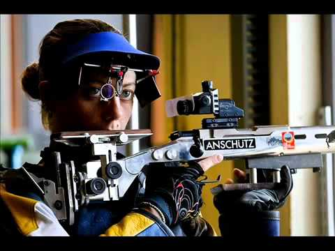 Olympic U S Shooter Jamie Gray Wins 50 meter Three Position Gold