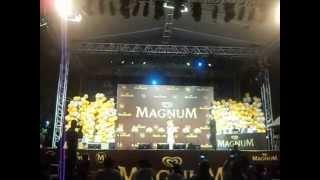 Magnum 25. Yıl Kampanyası Lamborghini kazanan talihli