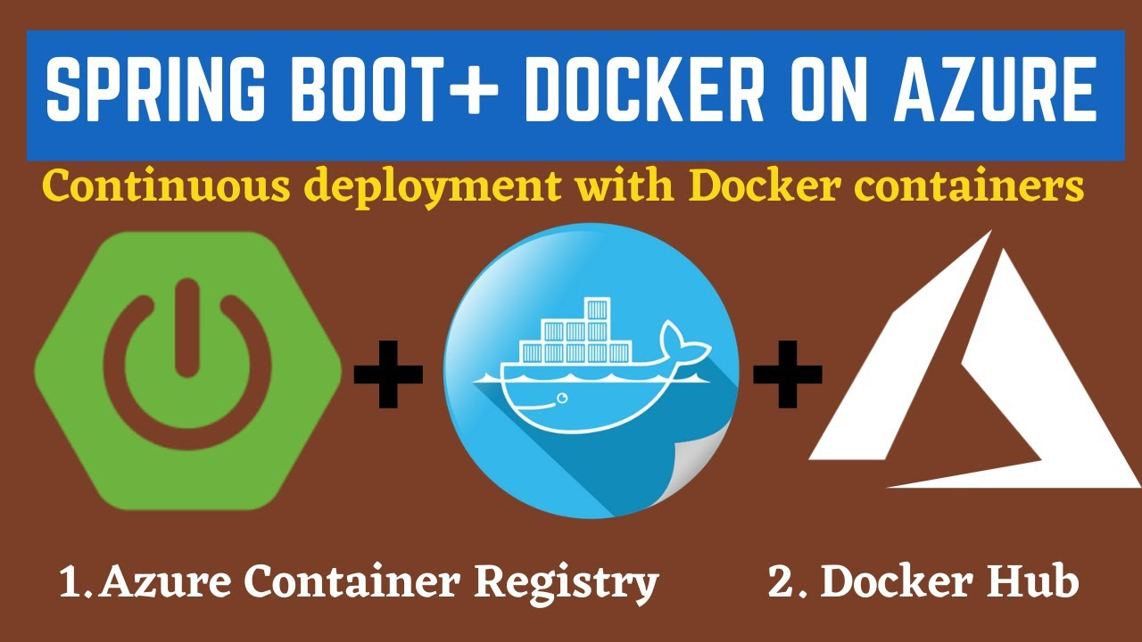 Build and Deploy Docker Containers to Azure App Service | Azure Web App for Containers