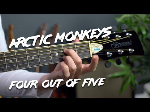 Arctic Monkeys - Four Out Of Five Guitar Lesson Tutorial
