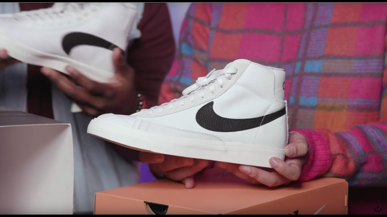 cheap price best wholesaler factory price Unboxing the Slam Jam x Nike Blazer Class '77, Just Don x Rémy Martin  Lambskin Duffle, & More