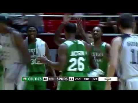 Demetrius Jackson Highlights vs. San Antonio Spurs at Utah Jazz SL (11 points)