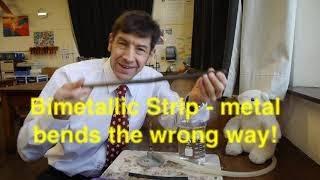 F-J's Physics - The Bimetallic Strip