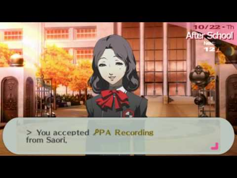 p3p dating yukari With persona 3 portable, atlus inserted cameo appearances by two characters from persona 4 a younger version of yukiko amagi, a playable character in persona 4, makes an appearance in persona 3 portable she is seen when the player's character visits inaba, the setting of persona 4, in a new event added in persona 3 portable.