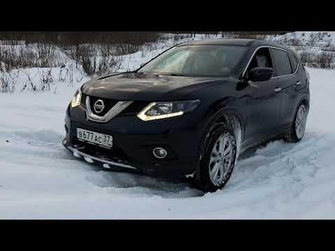 Зимние забав Nissan X Trail T32