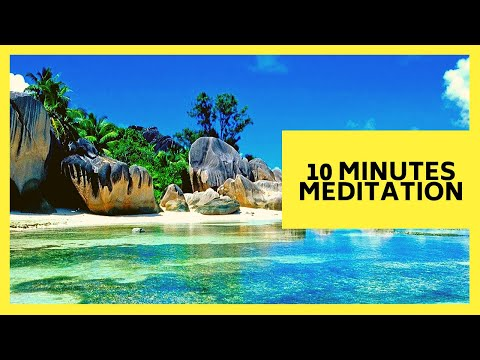 10 MINUTE MEDITATION ✔ RELAXING NATURE SOUNDS FOR DEEP MEDITATION 👌