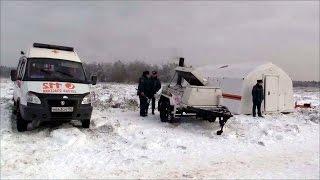 В обесточенных селах Дмитровского района МЧС развернуло пункты обогрева имобильные кухни.