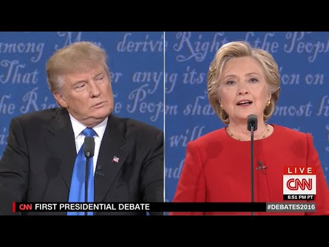 The First Presidential Debate in 3 Minutes