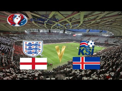 EURO 2016 - LAST 16 | - ENGLAND v ICELAND -  | LIVE AUDIO COMMENTARY 1st HALF
