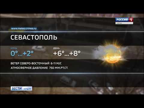 ВестиКрым.рф// Погода в Крыму: сухо, ветренно и до +9°
