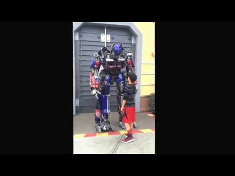 Optimus prime #universal studios