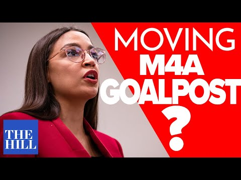 Ryan Grim responds: Are Ryan Grim and AOC moving the goalposts on M4A