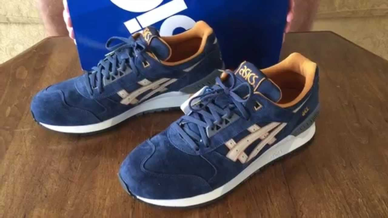 Asics Gel Respector Navy/Sand Review