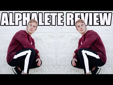 ALPHALETE REVIEW | Stripe Joggers, Men's Leggings, and More!