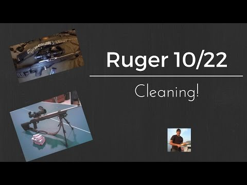 Ruger 10/22 Cleaning!