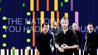 "The National - YOU HAD YOUR SOUL WITH YOU (PRO MIDI REMAKE / CHORDS) - ""in the style of"" Video"