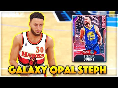 GALAXY OPAL 99 3 POINT STEPH CURRY GAMEPLAY!! Is This The WORST VALUE CARD In NBA 2k20 MyTEAM??