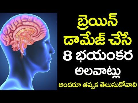 OMG! These 8 HABITS Cause DAMAGE to our BRAIN | Tips to Avoid BRAIN Damage | VTube Telugu