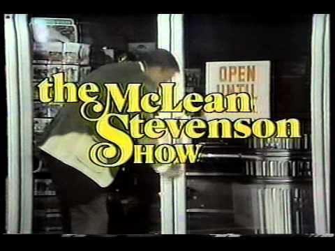 MCLEAN STEVENSON   credits NBC sitcom