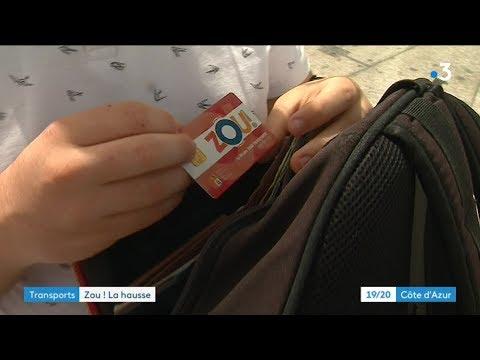 Polémique autour de la forte augmentation du prix de la carte Zou! Etudes - - France 3 Provence-Alpes-Côte d'Azur