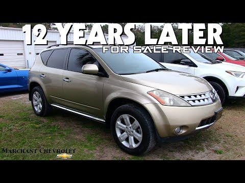 12 YEARS LATER REVIEW | 2006 Nissan Murano SL - For Sale Condition Report