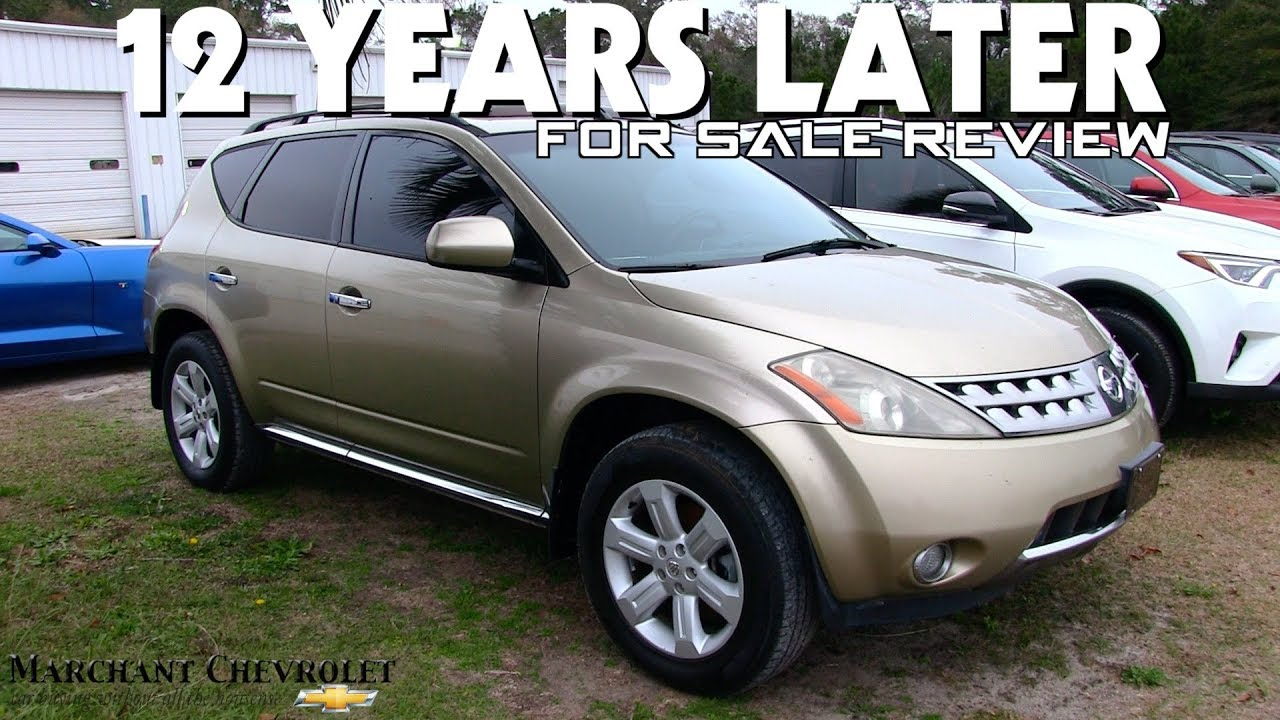 12 YEARS LATER REVIEW | 2006 Nissan Murano SL   For Sale Condition Report