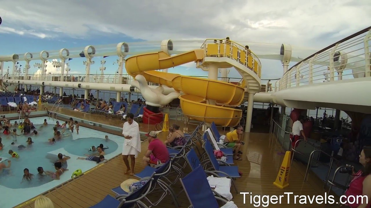 Walking Tour Of The Disney Dream Cruise Ship DisneyDream - The dream cruise ship disney