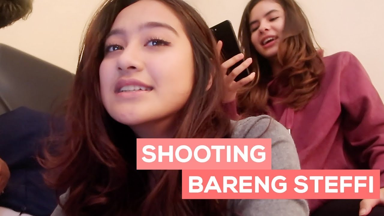 SHOOTING BARENG STEFFI!! (Film Ghost) | SALSHABILLA #VLOG ...