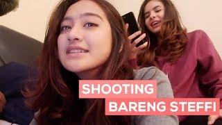 SHOOTING BARENG STEFFI!! (Film Ghost) | SALSHABILLA #VLOG