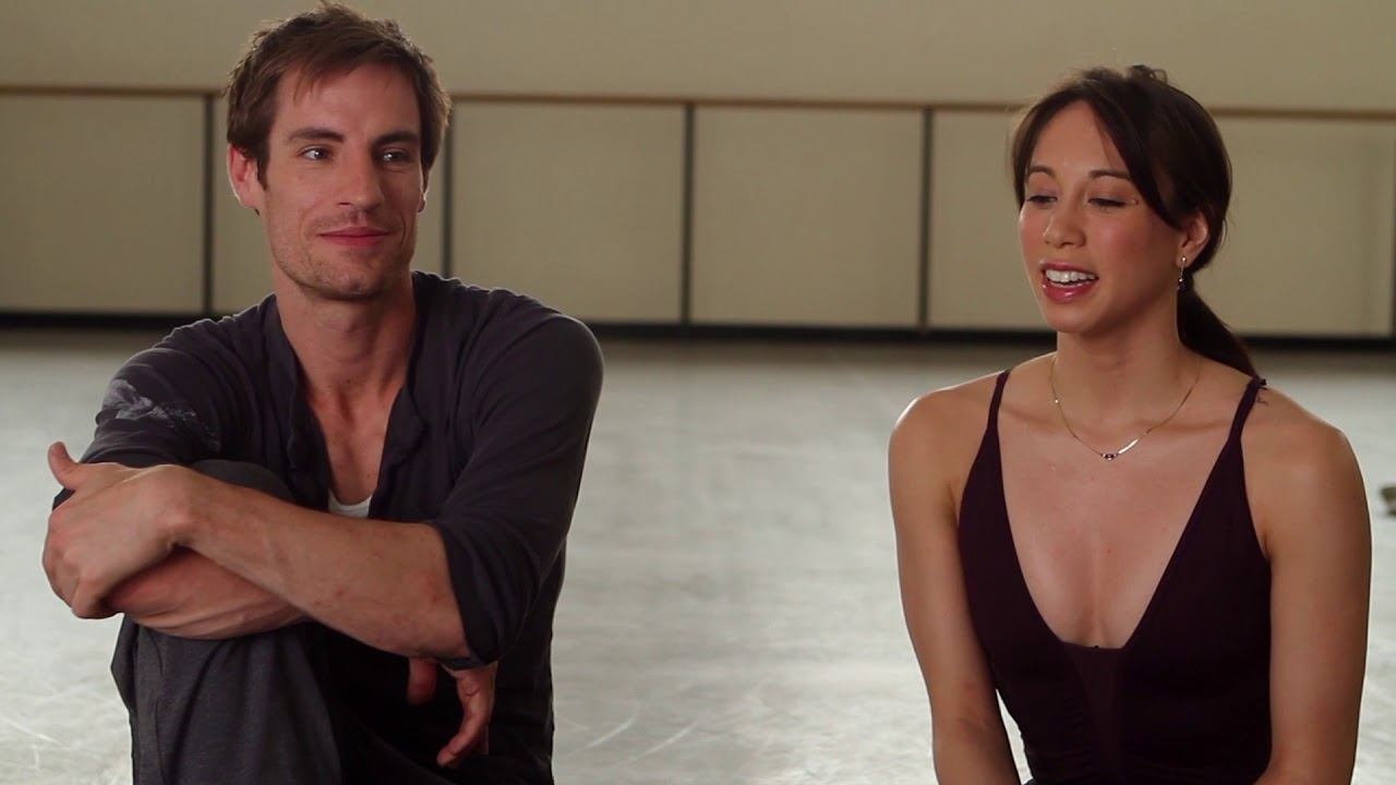 NYC Ballet's Andrew Veyette and Georgina Pazcoguin on Jerome Robbins' WEST SIDE STORY SUITE