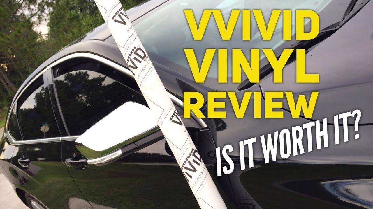 VVIVID Vinyl Review Satin Matte Black Vinyl Wrap Car Wraps Reviews