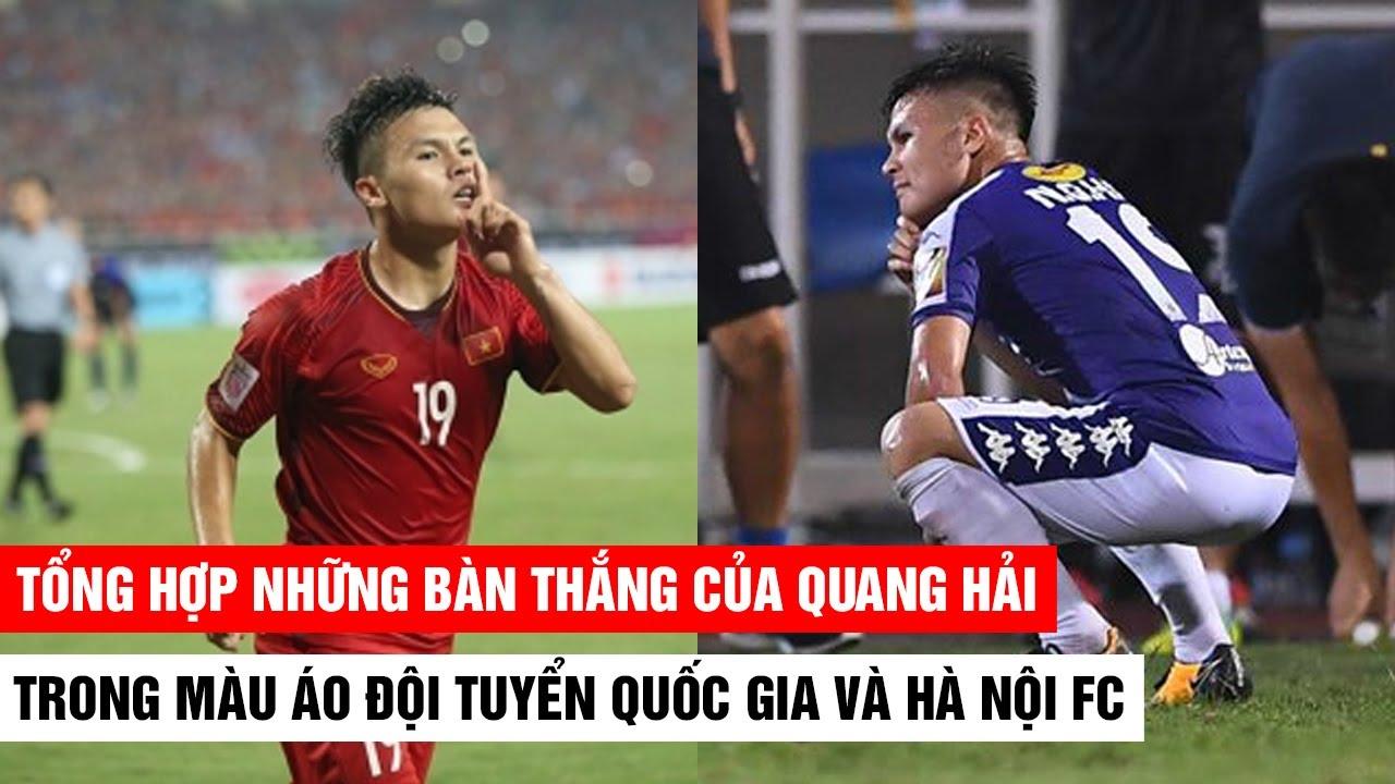Cùng chiêm ngưỡng những bàn thắng của Quang Hải ở màu áo ĐTQG và Hà Nội 2018/19 | Khán Đài Online