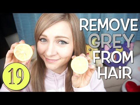 HOW TO EASILY REMOVE HAIR COLOR // With Lemons!