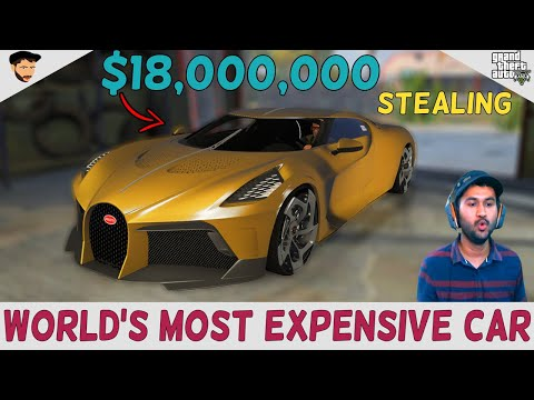 Stealing World's Most Expensive Car | GTA 5 Gameplay | Hindi | Maker Games