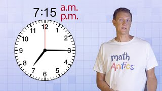 Math Antics - Telling Time