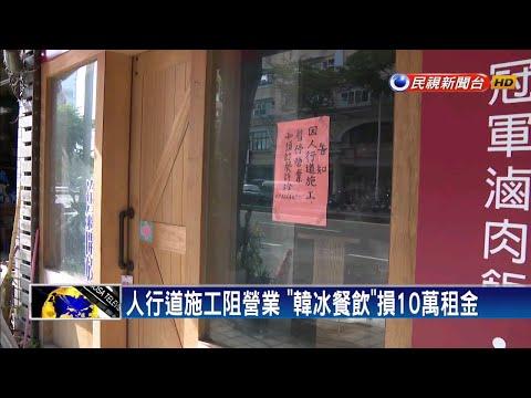 發大財夢碎! 「韓冰餐飲」開業半年收攤-民視新聞