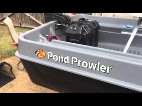Pond Prowler 10 Foot Fishing Boat Walk Around