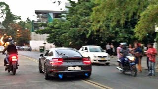Loudest Porsche 911 Turbo S? 750HP w/ Kline Inconel + Brooke Race Exhaust Shooting Blue Flames