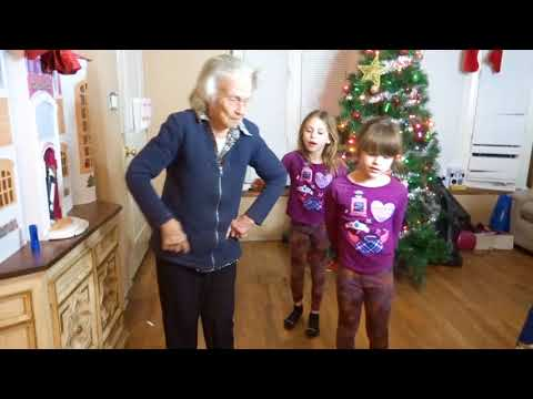 TOUCH BY LITTLE MIX DANCE BATTLE- 94 YR. OLD GRANDMA VS. TWINS!